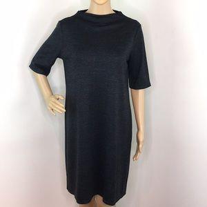 Eileen Fisher Gray Mock neck Dress